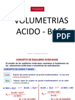Volumetria Acido Base