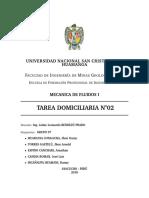 MECANICA DE FLUIDOS UNSCH