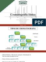 Cromatografia Iônica Final