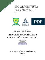 Plan de Area de c. Naturales