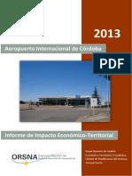 Informe de Impacto Económico-Territorial 2013