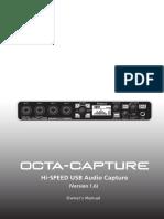Roland Octa-Capture manual