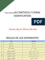 Notación Cientifica y Cifras Significativas