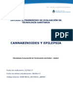 Informe Cannabinoides y Epilepsia