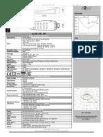 a2 Led Product Sheet