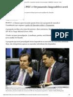 Câmara Aprova PEC e Orçamento Impositivo Será Promulgado - 05-06-2019 - Mercado - Folha