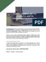 Activar Cuenta Airtm