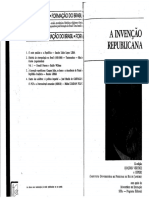 A Invenção Republicana - Renato Lessa