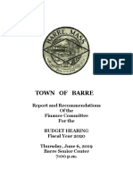 ATM Public Hearing FY20 Booklet Summary
