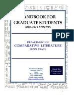2018-19 CMLIT Grad Handbook