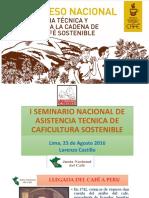 Estrategia y Avances en La Asistencia Tecnica de La Jnc- Lorenzo Castillo
