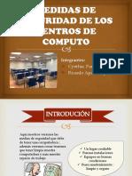 Medidas de Seguridad de Los Centros de Computo