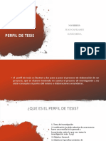 perfil de tesis uta