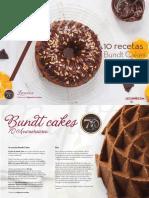 10 Recetas de Bundt Cakes