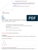 Print Edge Nodes (Boundary) of a Binary Tree – LeetCode