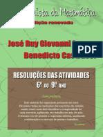 A Conquista Da Matemátia - e Renovada - Solucionário - 6º Ao 9º Ano