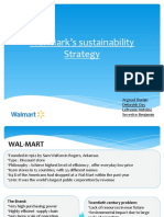 Wal-Mart's Sustainability Strategy-Group 13