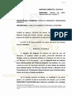 229-16 AMPARA HOMICIDIO no delito emergente.pdf