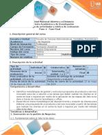 Guia de Actividades y Rubrica de Evaluación - Paso 4 - Fase Final