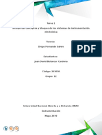 Tarea 1 Interpretar Conceptos y Bloques de Los Sistemas de Instrumentación Electrónica