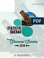 Statistik Daerah Provinsi Sulawesi Selatan 2018