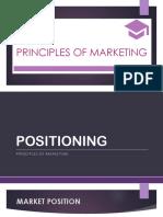 PrinMktg Lesson 9 Positioning