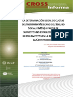DETERMINACION ILEGAL DE CUOTAS IMSS ROSS