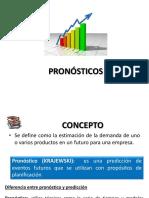 Presentacion Pronosticos Lecciones # 2 y # 3