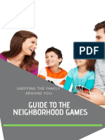 guide to the family games tool box