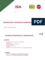 Capacitacion Respuesta a Emergencias Ecobesa 6-2019