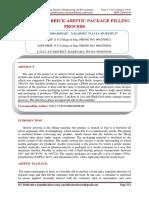 Analisis Del Proceso de Llenado de Empaques Asepticos Tipo Brik