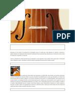 Principales Cuerdas para Violin
