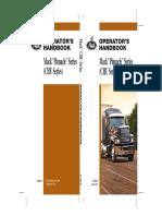 2010 US Mack Pinnacle Series (CHU Series) Operator's Manual