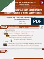 A. Diseño de Cimentaciones Superficiales
