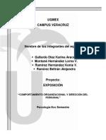 Comportamiento Organizacional y Dirección Del Personal