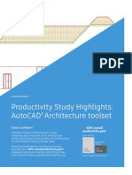 Autocad Productivity Study Highlights Architecture
