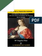 LUCREZIA MARINELLA. de Los Cinco Nombres de La Mujer. Mª Ángeles Díaz. Biblioteca Hermética La Memoria de Calíope.-