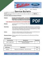 Service AdvanceTrac® Malfunction Warning