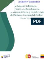 2. Norma Técnica Subsistema de Referencia y Contrareferencia