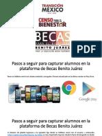 Presentacion Explicacion Becas Benito Juarez