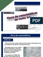 0.2. Placa de Características de Un Motor AC