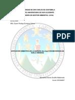 Perfil de Proyecto Ecología