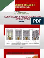 Clase 05 Losa Maciza en 2 Direcciones 1