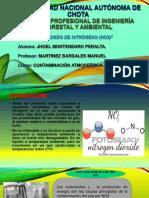 Dioxido de Nitrogeno