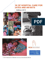 MCAI Pocketbook of Hospital Care for Neonates and Infants 2015