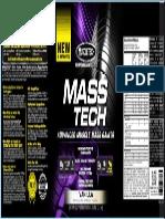 Ficha Tecnica - Mass Tech
