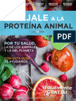 Bajale a La Proteina Animal Habitos
