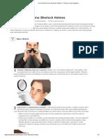 Como Pensar Como Sherlock Holmes_ 17 Passos (Com Imagens)