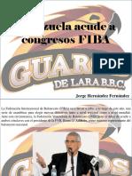 Jorge Hernández Fernández - Venezuela Acude a Congresos FIBA