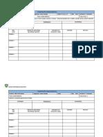 Formato Planificación Mensual y Anual 2019 ARTES Y TECNOLOGIA